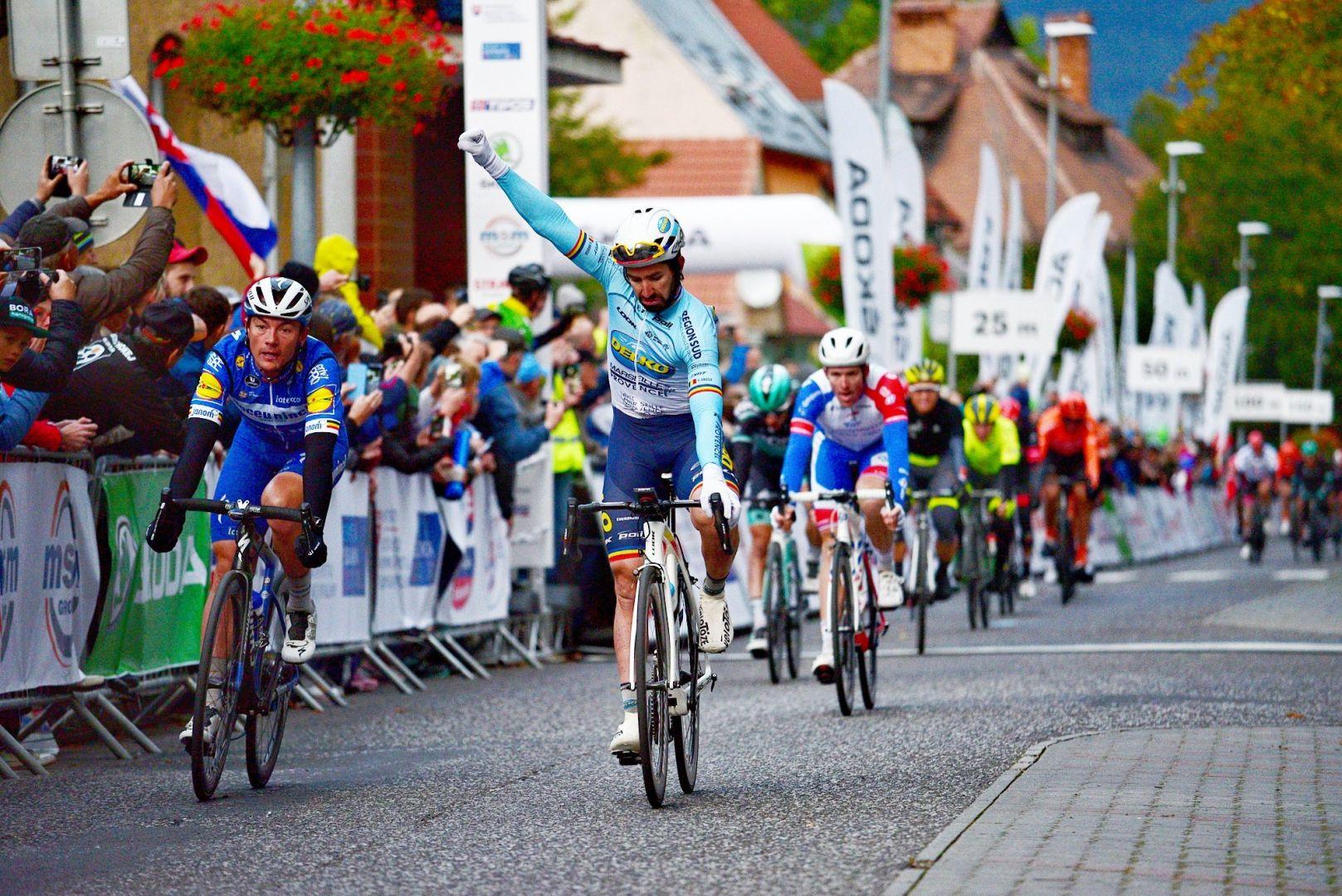 Тур Словакии 2019, этап 2: результаты